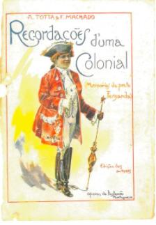 Capa de Recordações de Uma Colonial - Memórias da Preta Fernanda