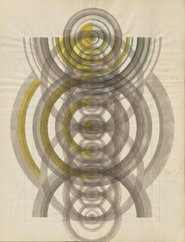 Estudo geométrico a propósito da obra Ecce Homo (título atribuído)© Direitos reservados