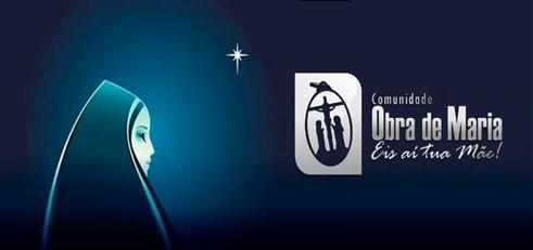 Símbolo oficial. Fonte, Comunidade Obra de Maria