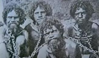 Membros do povo aborígene vítimas de escravatura
