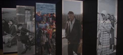 Exposição sobre os refugiados em Londres, Direitos de autor  AP Photo
