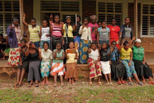Foto do documentário City of Joy sobre abusos das mulheres congolesas – Divulgação