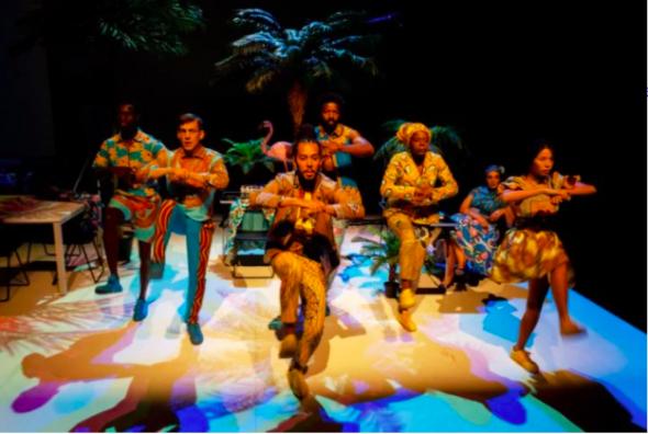 Moçambique 2016, pelo grupo de teatro mala voadora DR