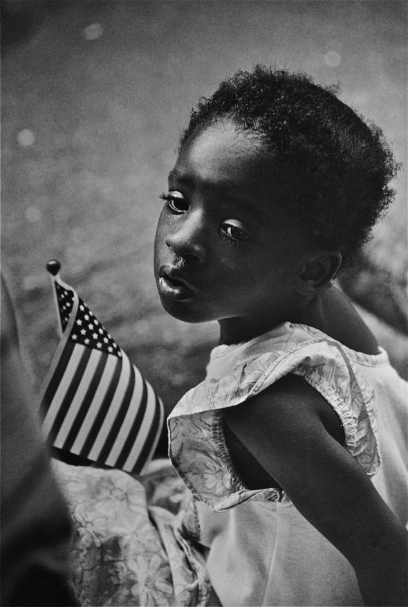 Girl With Flag (1991) Earlie Hudnall Jr.