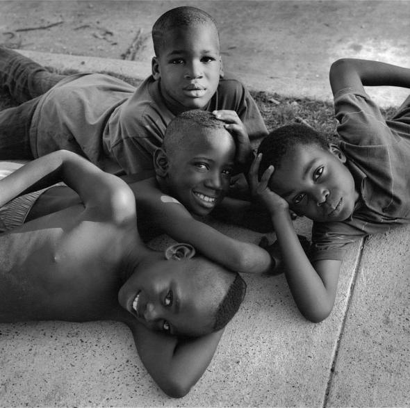 Wheels (1993). These boys were just rolling from scene to scene in front of the camera I seldom ask someone to pose. I just try to take the situation that's presented to me. Earlie Hudnall Jr.—PDNB