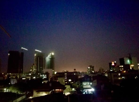centro de Luanda, fotografia de Pedro Castanheira (2018)