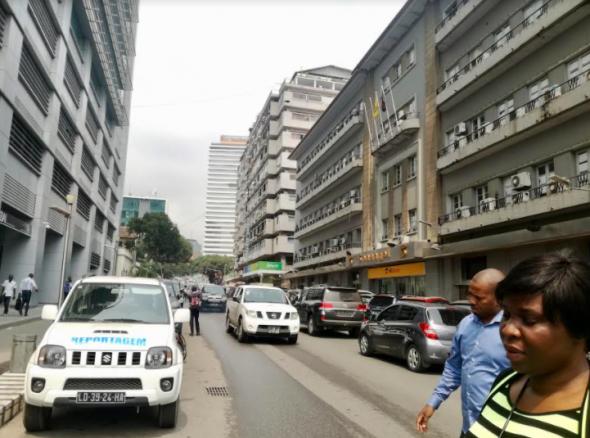centro de Luanda, fotografia de Marta Lança (2018)