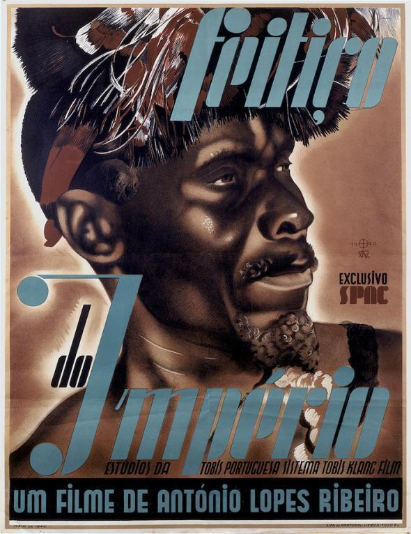 Cartaz do filme 'Feitiço do Império' (1940) de António Lopes Ribeiro. Cinemateca Portuguesa