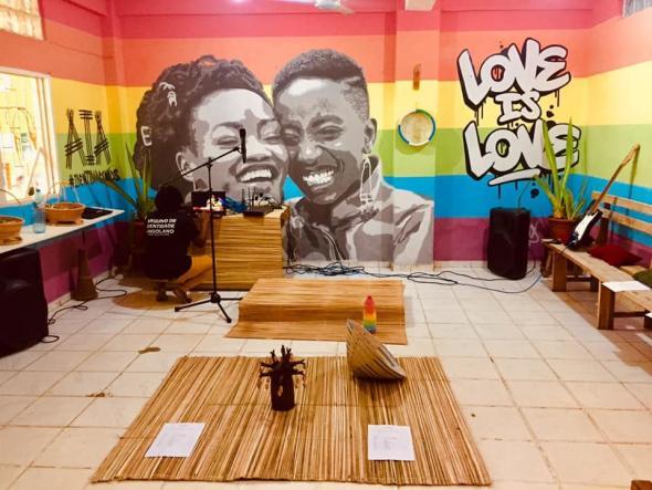 Espaço Cultural e Abrigo LGBTIQ+.