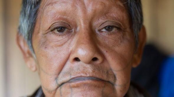 Aruká, o último guerreiro do povo Juma.