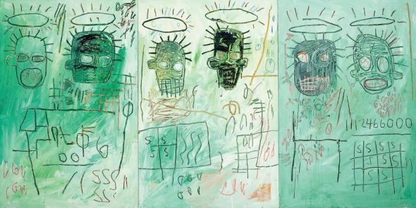 Jean-Michel Basquiat. Six Crimee, 1982. MOCA