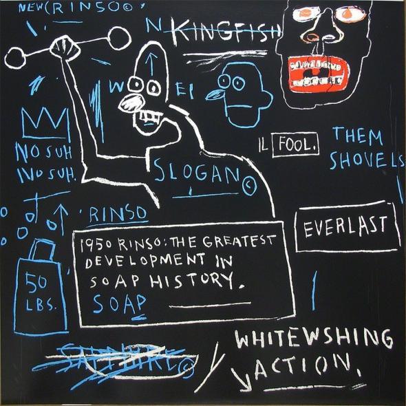 Jean-Michel Basquiat. Untitled (Rinso), 1982. Hamilton-Selway Fine Art