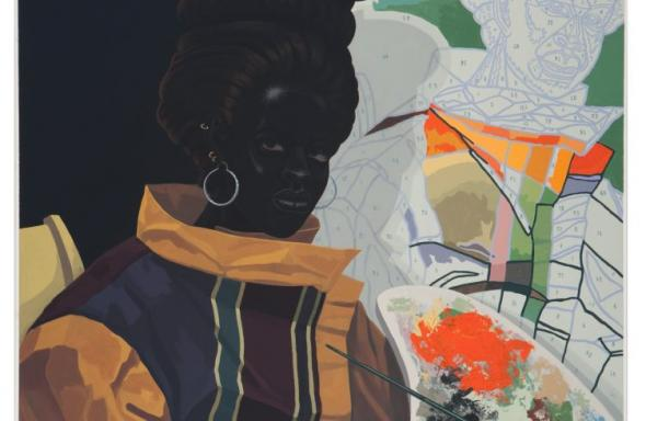 Untitled (Painter) (2009) Kerry James Marshall. Foto cortesia do artista e da Jack Shainman Gallery.