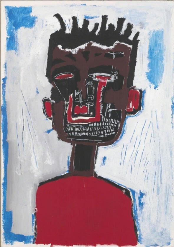 Jean-Michel Basquiat. Self-portrait, 1984. Gagosian