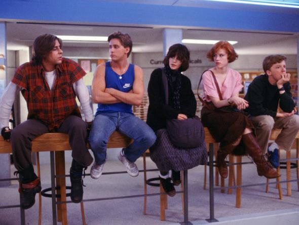 The Breakfast Club (1985), de John Hughes