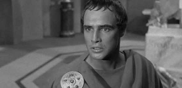 Marlon Brando em Julius Caesar (1953) de Joseph K. Mankiewicz