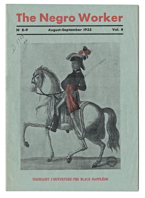 The Negro Worker, August-September, 1933. Source AOM/Slotfom/XV/304, D.R. reproduced in Amzat Boukari-Yabara, 'Les militants noirs anglophones des années 1920 à 1940'