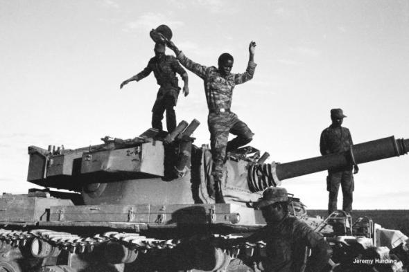 Fotografia da batalha do Kwitu Kwanavale.