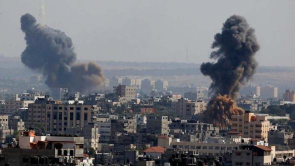bombardeamentos israelitas em Gaza