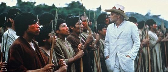 Imagem do filme Fitzcarraldo de Werner Herzog
