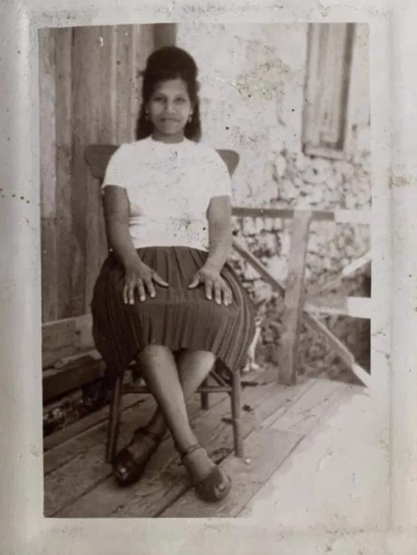 A photo of Mariana taken before she left Cape Verde for São Tomé and Principe. Courtesy of Mariana dos Santos