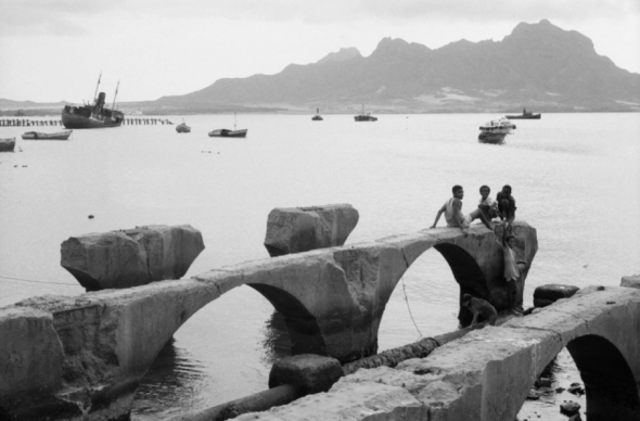 The history of Cape Verde is intertwined with stories of migration. Morna reflects this sense of displacement and longing for home. Courtesy of Pierre Rene-Worms/Lusafrica