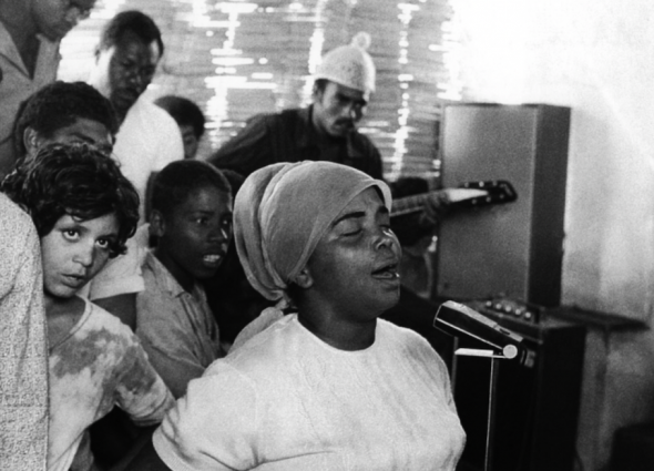 A young Cesária Évora, in a photo taken in the 1960s. Courtesy of Lusafrica
