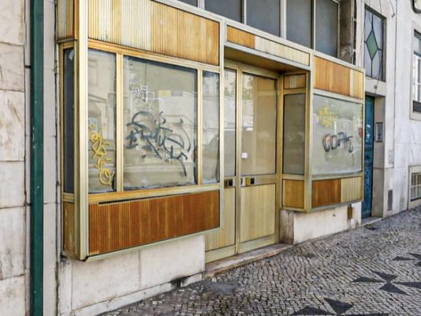 espaço onde funcionou o antigo Café Pam-Pam.