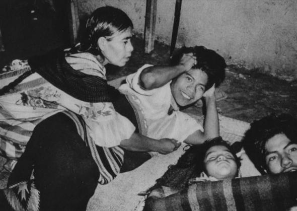 Maria Sabina teve nove filhos, apenas quatro sobreviveram