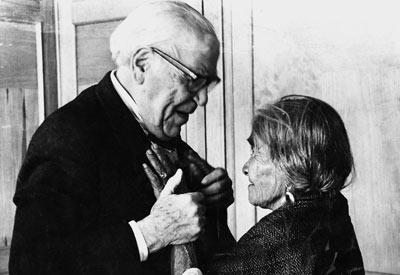 O micologista francês Roger Heim foi uma das muitas figuras famosas que visitaram Maria Sabina