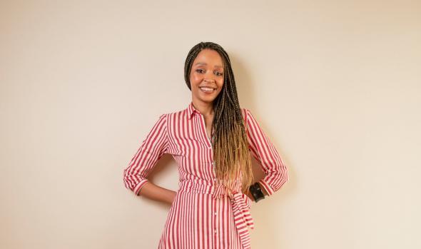 Paula Cardoso, jornalista e fundadora do Afrolink ©Aline Macedo