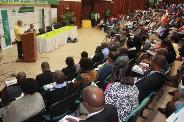 Fala inaugural do VII Seminário Pedagógico da Universidade Eduardo Mondlane - Moçambique