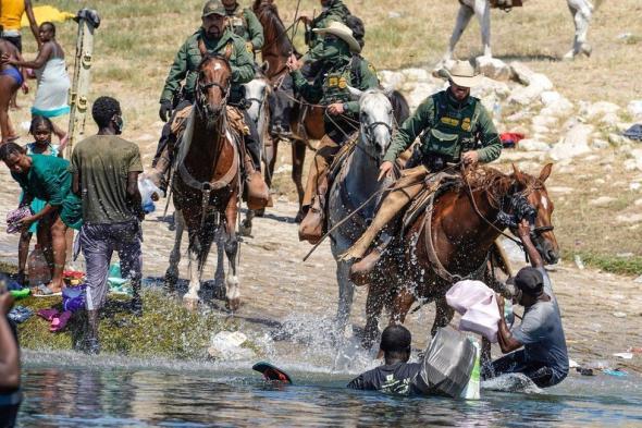 13 mil haitianos tentaram entrar nos Estados Unidos na fronteira do México com o Texas (BBC)
