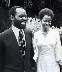 Samora e Graça Machel