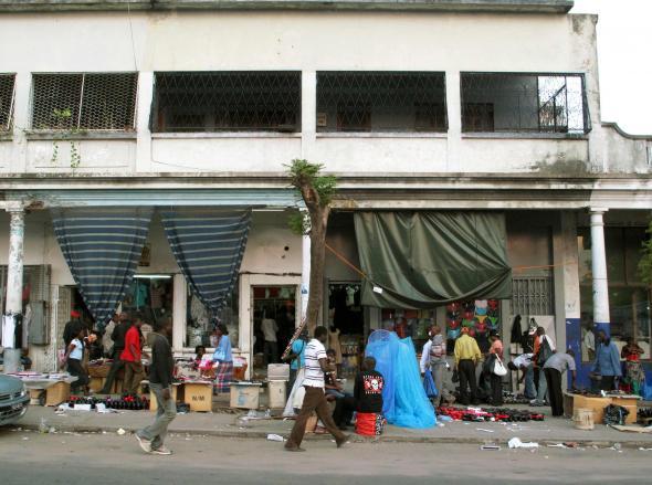 rua de Maputo, foto de Otávio Raposo