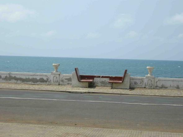 Marginal de São Tomé, fotografia de Marta Lança
