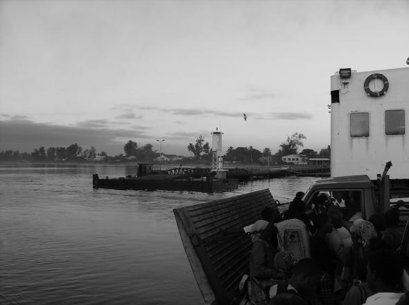 história do ferryboat Bagamoyo', de Diana Manhiça
