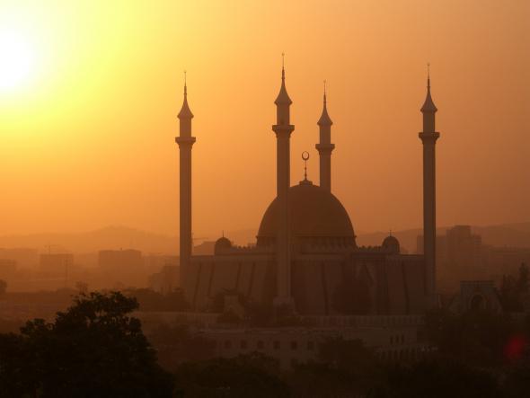 Mesquita Central em Abuja, Nigéria