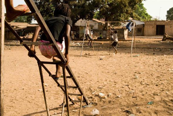 Bissau, parque infantil