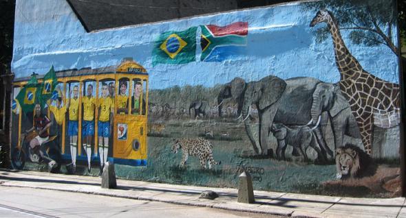 parede em santa teresa, Rio