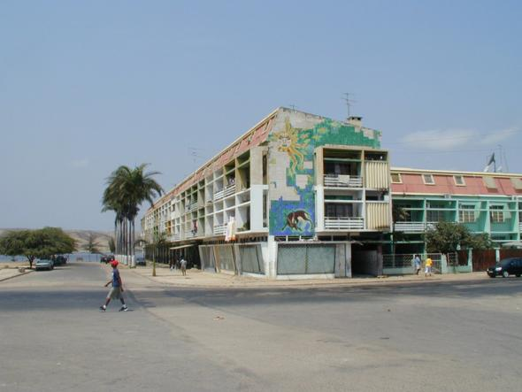 Casa Sol, Lobito, obra de Castro Rodrigues, fotografia Cristina Salvador