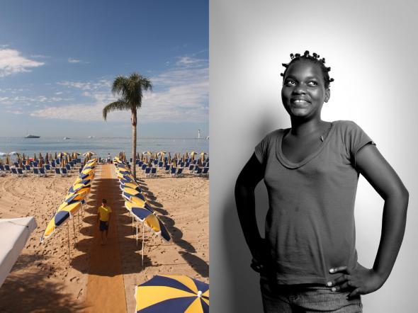 Diálogo_02 Cannes/Luanda, Fotografia Digital impressa em Foam, 160x120, 2010