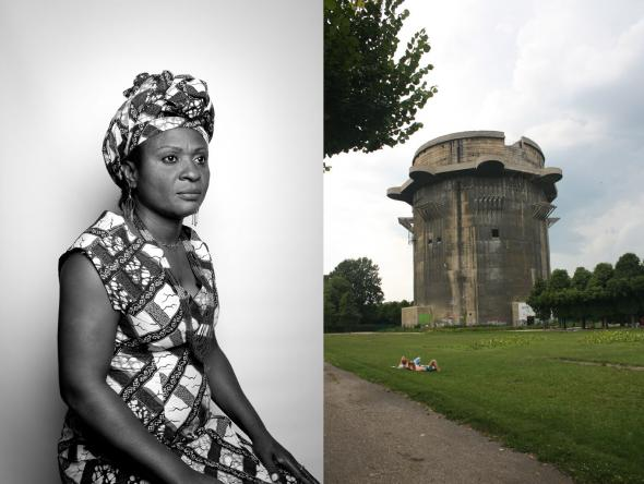 Diálogo_05 Luanda/Vienna, Fotografia Digital impressa em Foam,160x120, 2010