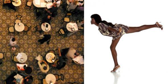 Diálogo_08 Rio de Janeiro/Luanda, Fotografia Digital impressa em Foam, 240x120, 2010