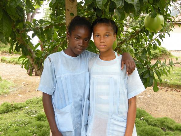 meninas de s.tomé, fotografia de ML
