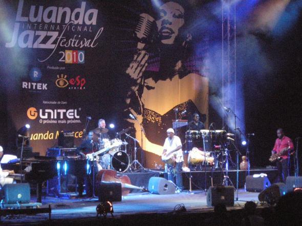 festival de jazz de luanda, agosto 2010