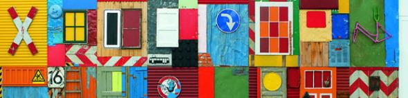 'Township Wall', Africa Remix, Dusseldorf, 2004