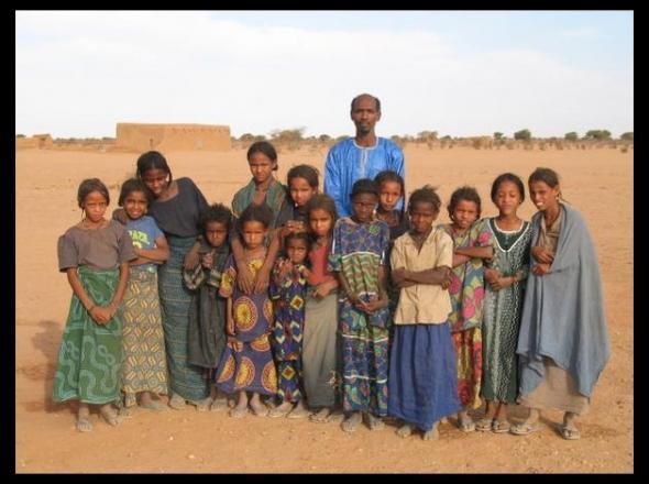 Escola nómada de Sikerat. Níger (Photo Jean Marc Pellet)