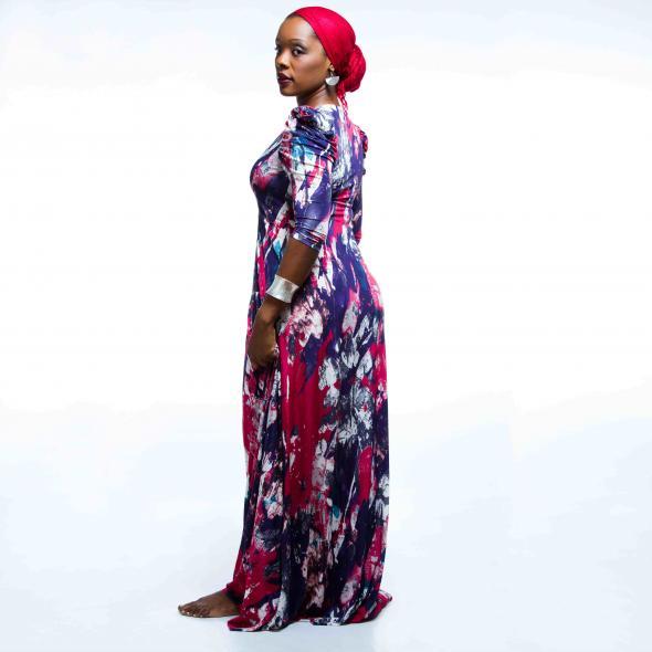 Eunice José 'Afrikkanitha', cantora de Afrojazz