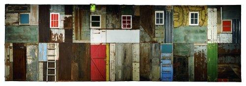 'Township Wall', Culturgest, Lisbon, 2003